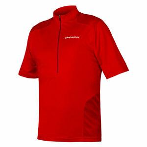 Endura dres HUMMVEE krátký rukáv červený