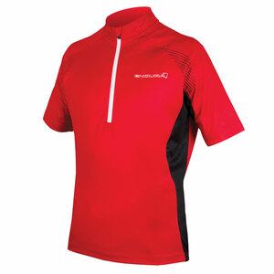Endura dres s krátkým rukávem XTRACT II červený