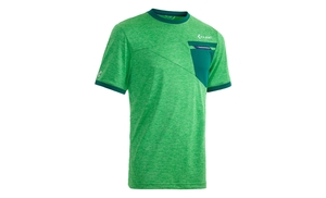 Cube dres TOUR FREE krátký rukáv green