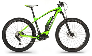 Head elektro kolo VOLTA 27.5+ green black