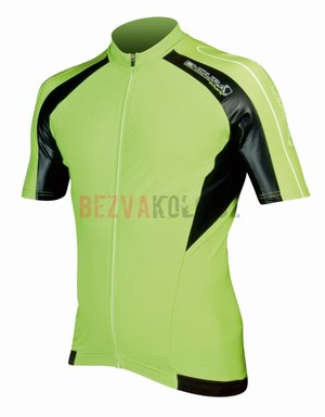 Endura EQUIPE dres RACE S/S Jersey lime
