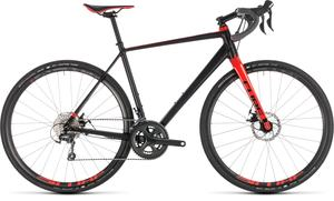 Cube gravel kolo NUROAD PRO black red