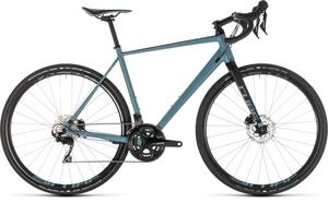 Cube gravel kolo NUROAD RACE blue black