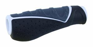 MRX gripy MRX 709-AD2 ergon. černo-šedo-bílý