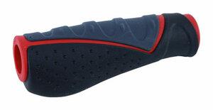 MRX gripy MRX 709-AD2 ergonom. černo-šedo-červený