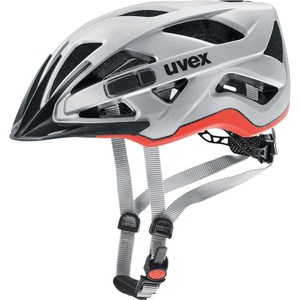 Uvex helma ACTIVE CC silver-orange mat