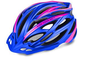 R2 helma ARROW modrá/růžová matná