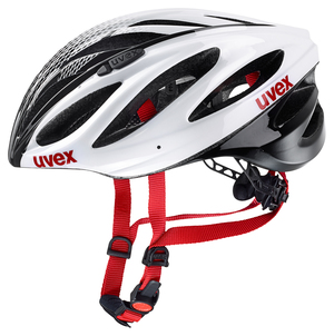 Uvex helma BOSS RACE white black