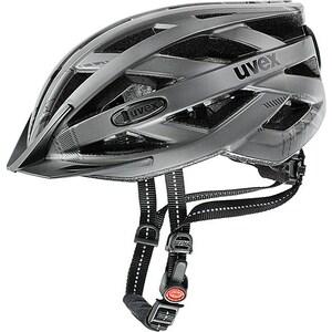 Uvex helma CITY I-VO dark silver mat