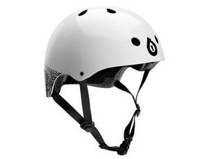 SixSixOne helma DIRT LID white