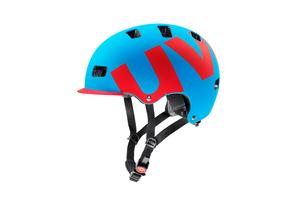 Uvex helma HLMT 5  PRO CYAN-RED MAT