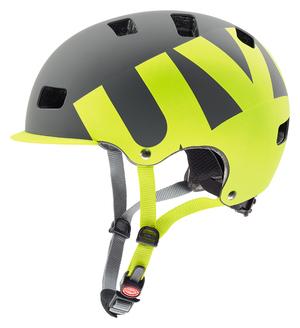 Uvex helma HLMT 5 PRO grey lime mat