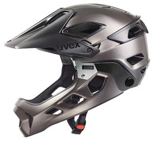 Uvex helma JAKKYL HDE black dark silver mat