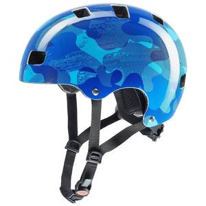 Uvex helma KID 3 blue camo