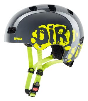 Uvex helma KID 3 dirtbike grey-lime