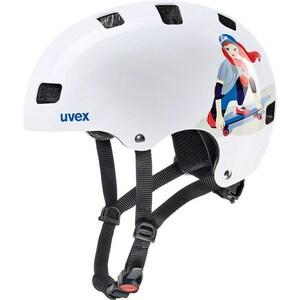 Uvex helma KID 3 white skate