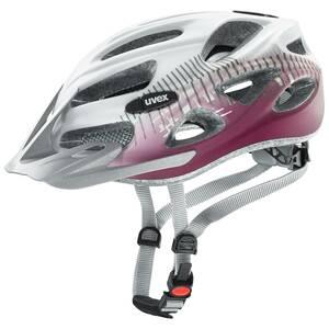 Uvex helma ONYX CC white red mat