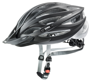 Uvex helma OVERSIZE black mat silver