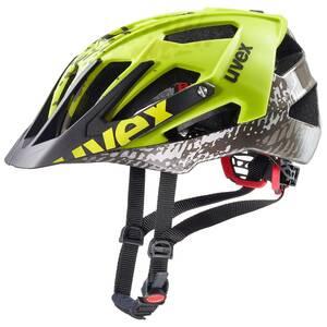 Uvex helma QUATRO dirt neon yellow