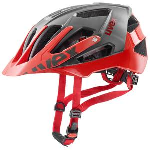 Uvex helma QUATRO grey red