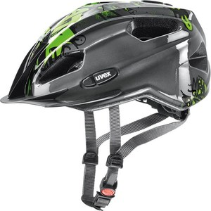 Uvex helma QUATRO JUNIOR anthracite-green