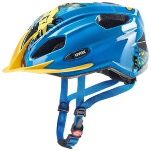 Uvex helma QUATRO JUNIOR blue yellow