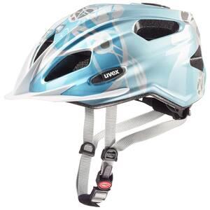 Uvex helma QUATRO JUNIOR lightblue silver