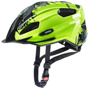 Uvex helma QUATRO JUNIOR neon yellow