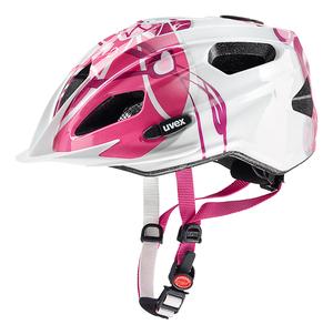 Uvex helma QUATRO JUNIOR pink silver