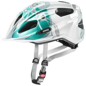 Uvex helma QUATRO JUNIOR white teal