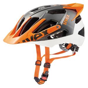 Uvex helma QUATRO PRO white orange mat