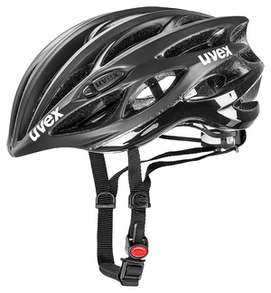 Uvex helma RACE 1 black mat shiny