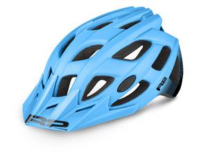 R2 helma ROCK modrá/černá matná