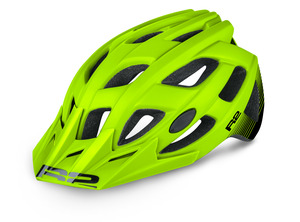 R2 helma ROCK neon žlutá/černá matná