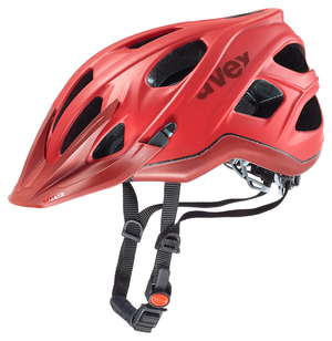 Uvex helma STIVO CC RED-DARK RED MAT