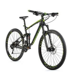 Leader Fox horské kolo HARPER černá mat/zelená