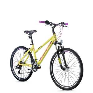 Leader Fox horské kolo MXC Dámské žlutá/fialová