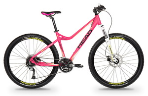 Head horské kolo TACOMA II pink matt