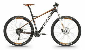 Head horské kolo X-RUBI I černá matná / oranžová