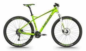 Head horské kolo X-RUBI I zelená matná