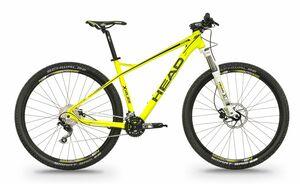 Head horské kolo X-RUBI II žlutá matná