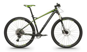 Head horské kolo X-RUBI IV černá matná / zelená