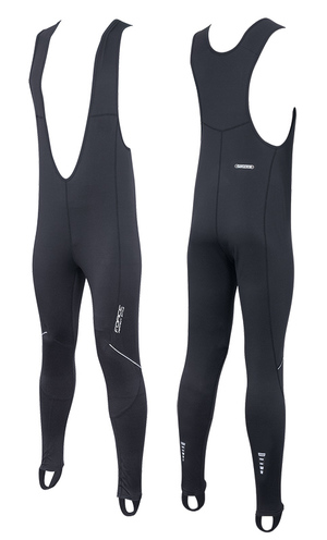 Force kalhoty Z68 se šráky bez vložky, černé