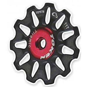 Token kladky přehazovačky TOKEN 11 zubů černé