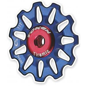 Token kladky přehazovačky TOKEN 11 zubů modré