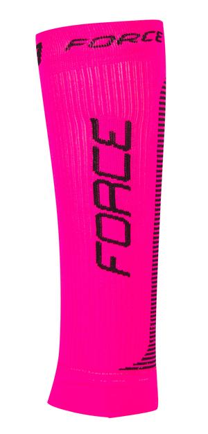 Force kompresní návleky růžovo-černé