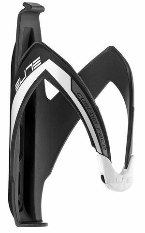 Elite košík CUSTOM RACE, černo-bílý