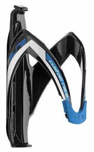 Elite košík CUSTOM RACE, černo-modrý
