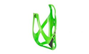 Cube košík na láhev HPP glossy green/black