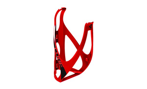 Cube košík na láhev HPP matt red/black